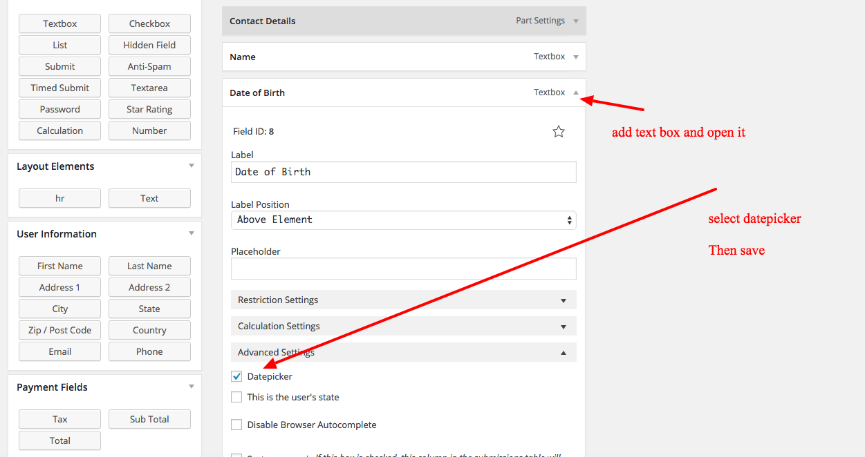 How To Use Ninja Forms To Add An Online Booking Form To Wordpress