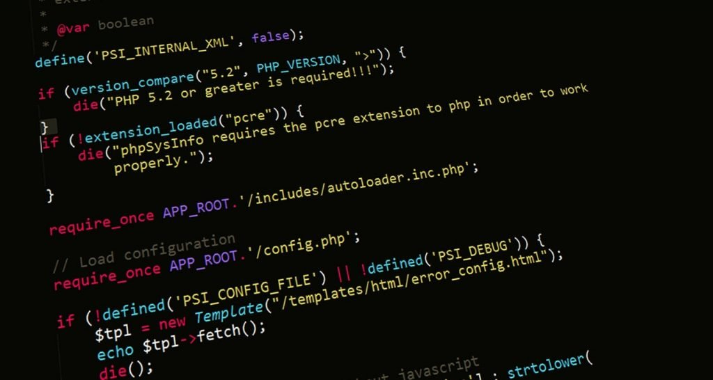 php programming code