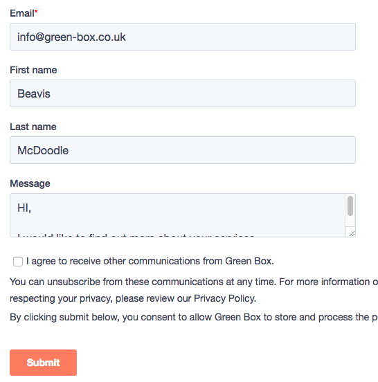 Hubspot WordPress form integration